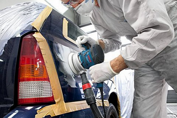 Частичная покраска отдельных участков авто своими руками 40