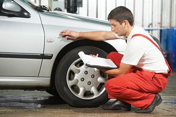 Оценка повреждения авто